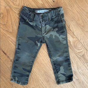 Joe's Jeans baby girl camo jegging